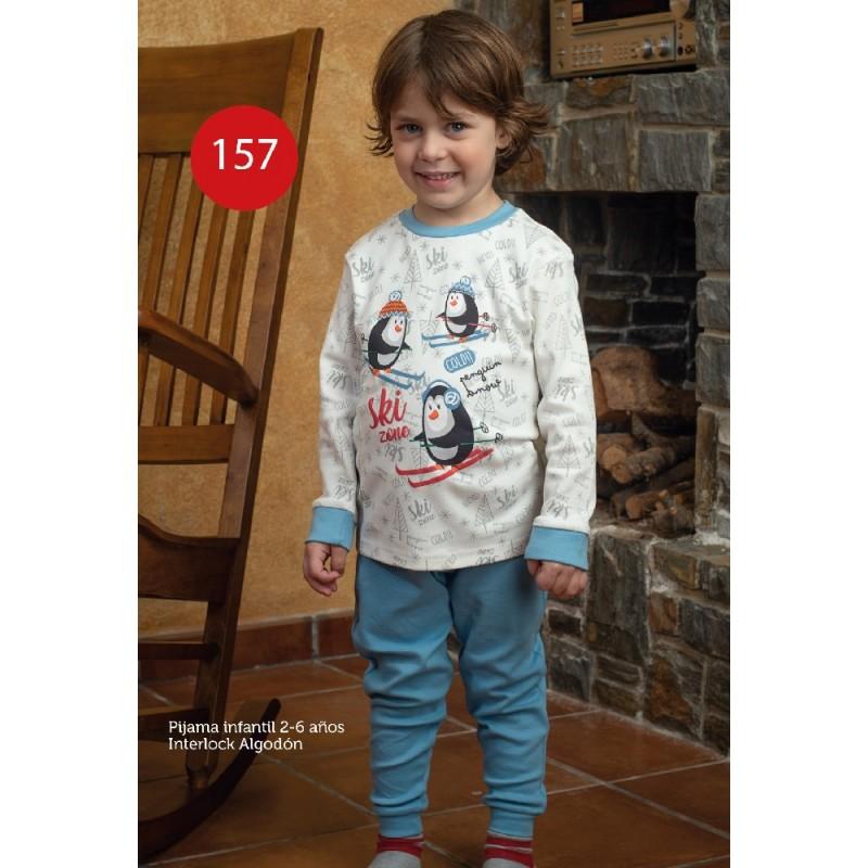 KN-157/IV20 KNT PIJAMA INFANTIL ALGODON