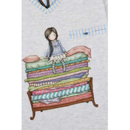 "54402 SANTORO ""GORJUSS"" PIJAMA NIÑA ALG "" THE PRINCESS AND THE PEA"" Foto 10769"