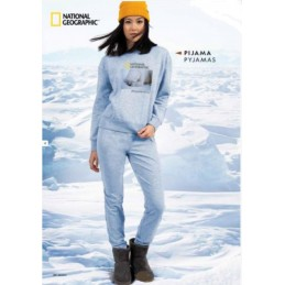 "54851 NATIONAL GEOGRAPHIC PIJAMA JUVENIL ""OSO/COOL"""