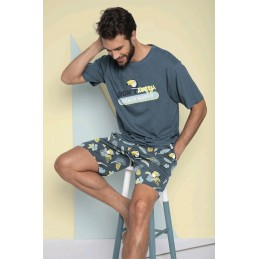 55706 MR.WONDERFUL PIJAMA HOMBRE ALGODON TUCAN
