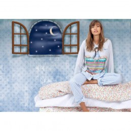 "54400 SANTORO ""GORJUSS"" PIJAMA JUVENIL ALG ""THE PRINCESS AND THE PEA"""
