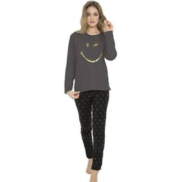 "50821 SMILEY PIJAMA SRA GOLDEN LOVE ""Pant Caritas"""
