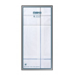 324.95 P MARVIN CRYSTAL 6Uds PAÑUELOS HOMBRE 40x40