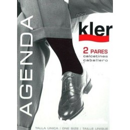 """6030 KLER PACK-2 CALCETIN UNISEX """"AGENDA"""""""