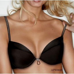 W004Y B WONDERBRA SUJETADOR PUSH UP ESCOTE VARIABLE