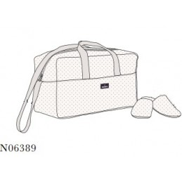 N06389 PROMISE BOLSO MATERNAL TOPITOS