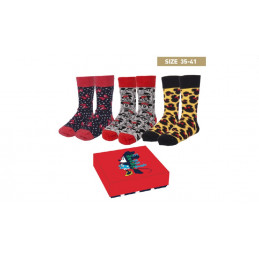 UNIC 2200006897 DISNEY PACK-3 CALCETINES MUJER FANTASIA MINNIE