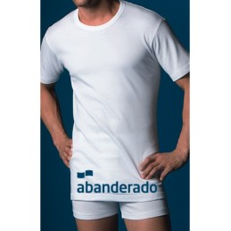 Blanco 806 ABANDERADO CAMISETA HOMBRE FIBRA THERMAL M/CORTA C/REDONDO Foto 3835