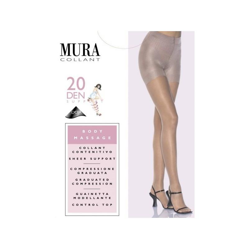 302XL MURA 5/6-XL PANTY BODY CONTROL MASSAGE 20 DEN Foto 5433