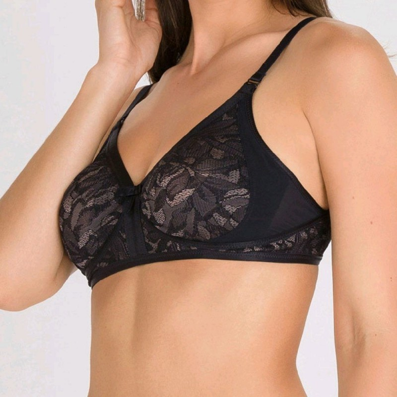 Negro P05F7 C PLAYTEX IDEAL BEAUTY SUJETADOR BLONDA SIN AROS Foto 7864
