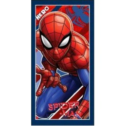ET4212 SPIDERMAN TOALLA PLAYA ALGODON 70x140