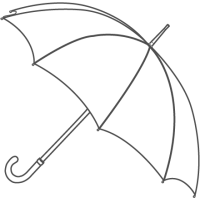 Venta al por mayor de paraguas para hombre en España