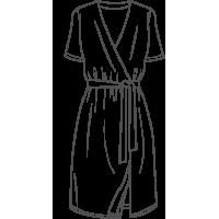 Bata de verano Cruzada para Mujer. Venta al por mayor