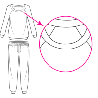 Tendencias de Invierno  ✓ Pijamas para hombre cuello redondo